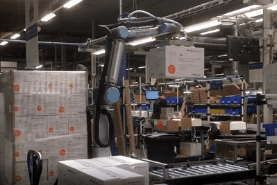 palletizing with cobot